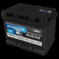 Аккумулятор Ultimatum VRLA AGM  6ст-60 VL  евро зал. РФ