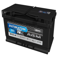 Аккумулятор Ultimatum VRLA AGM  6ст-70 VL  евро зал. РФ